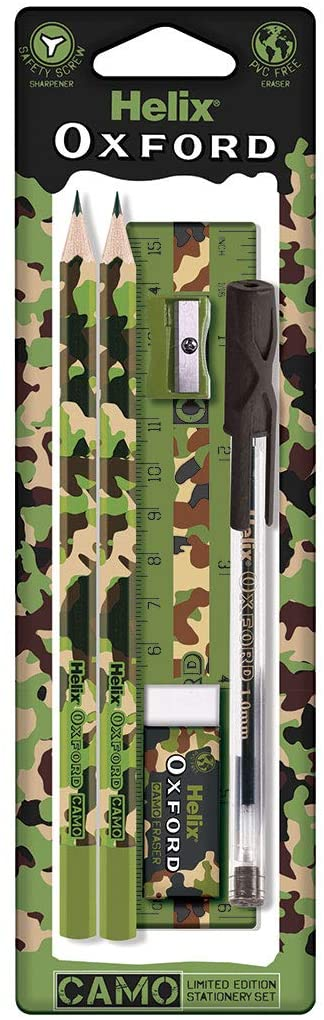 Helix Oxford Camo Student Set - Green